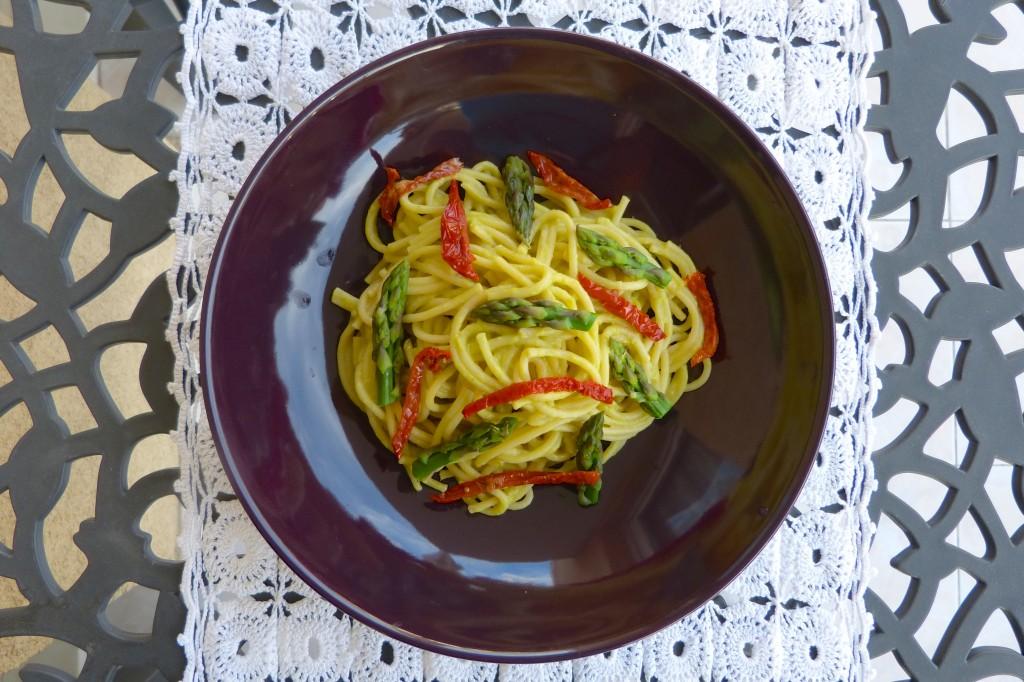 spaghetti asperges
