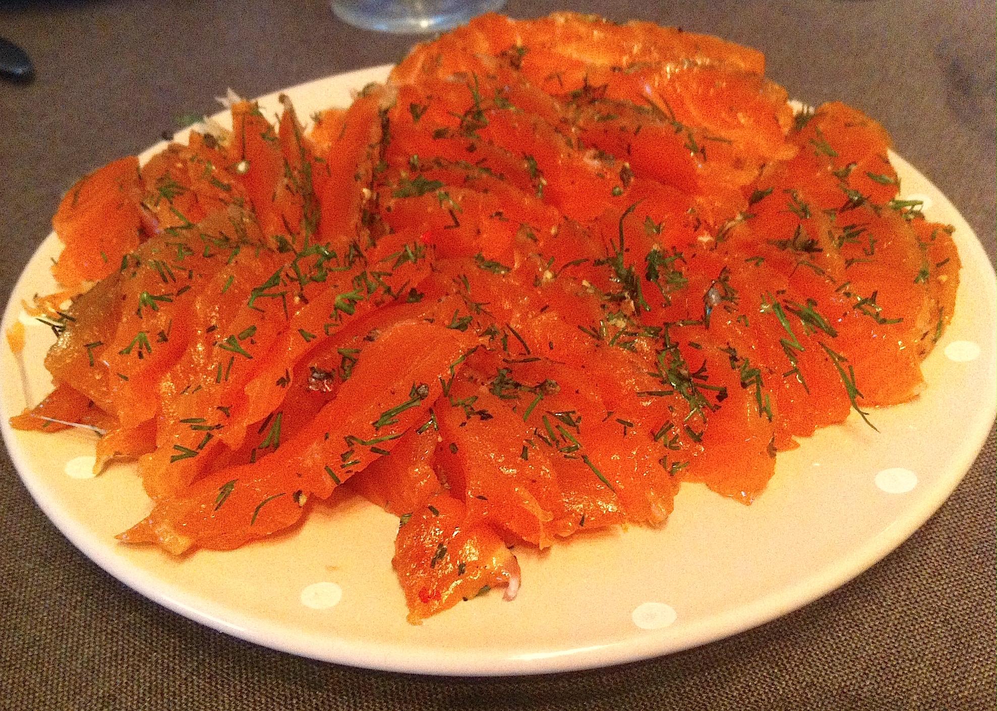 Préférence Saumon Gravlax Sauce Norvégienne - La Cuisine de Micheline JK43
