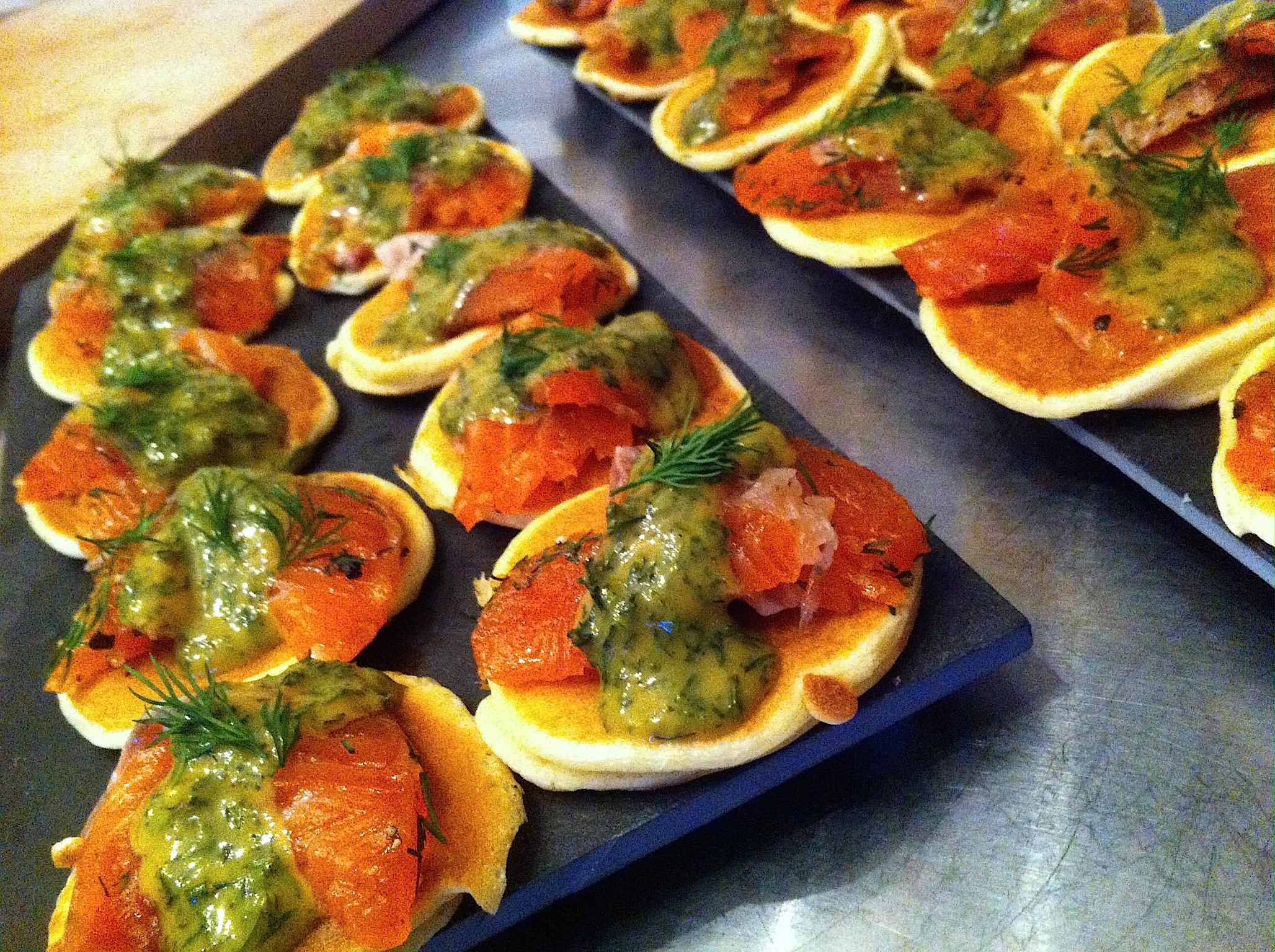 Exceptionnel Saumon Gravlax Sauce Norvégienne - La Cuisine de Micheline TN69