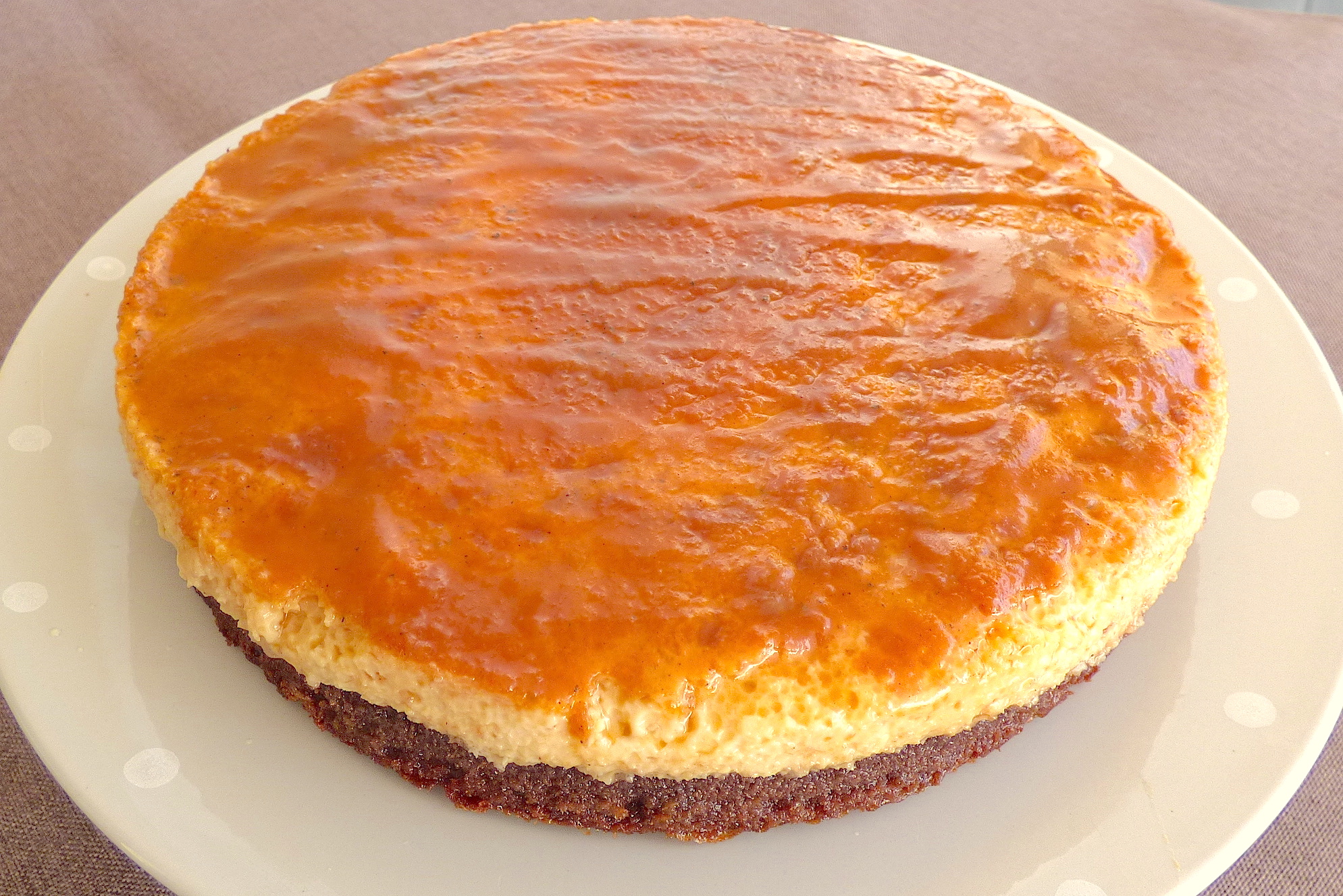 Toujours dans le thème du Mexique, nous partons sur un dessert. Le  Chocoflan est une spécialité très appréciée par les mexicains.