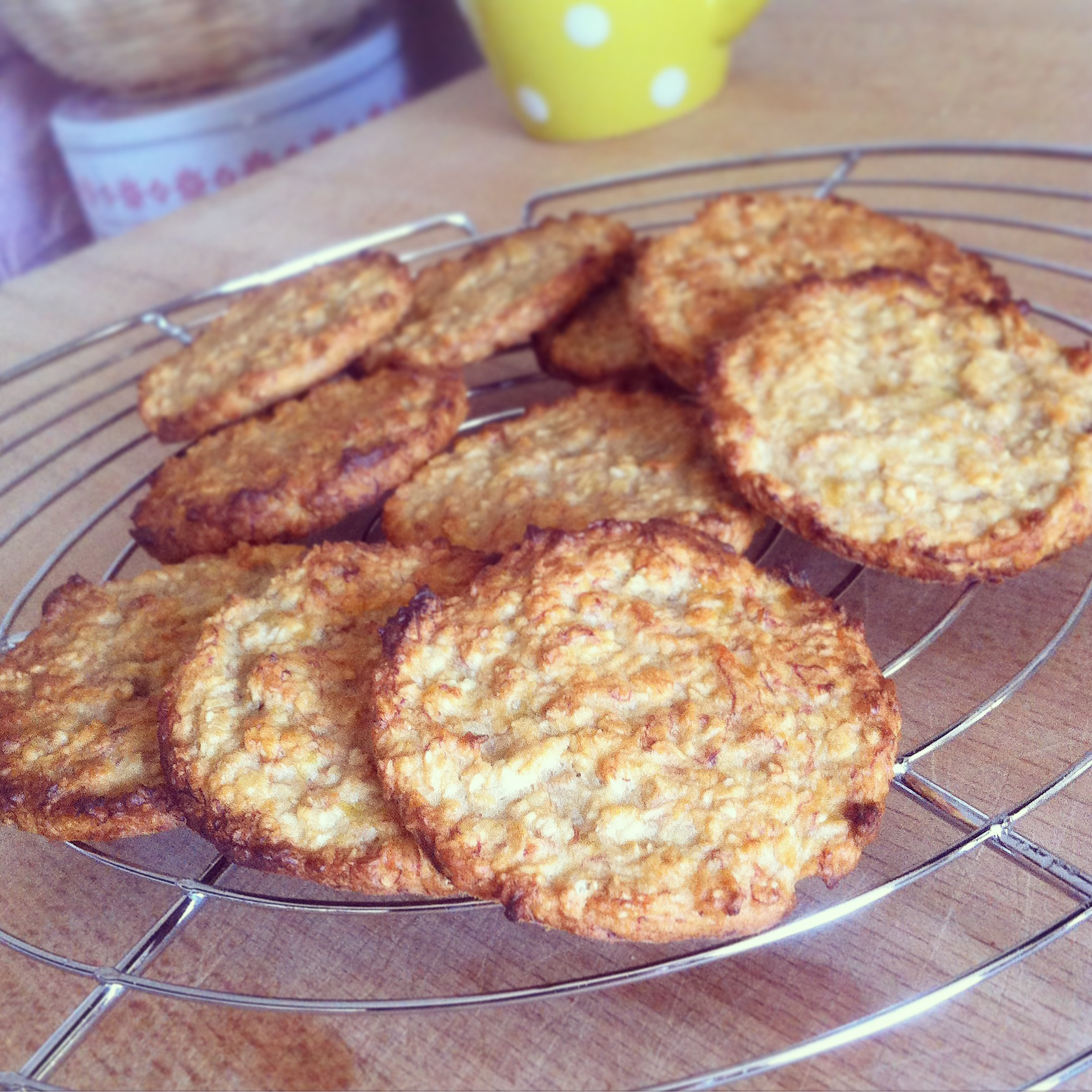 Gut gemocht Cookies Banane - Avoine - La Cuisine de Micheline TO89