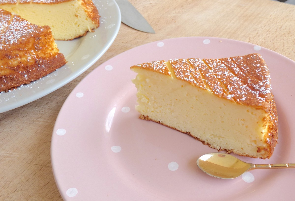 Cake Au Fromage Blanc Moelleux